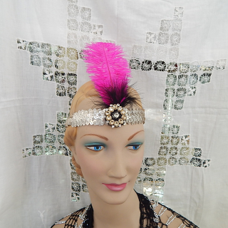 Art Deco head band