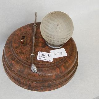 RARE Golf Ball and Club Bakelite light