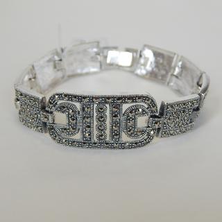 Stunning Silver ART DECO Bracelet