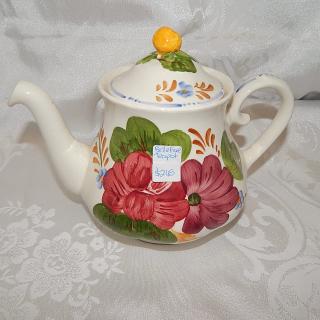 Belle Fiori Tea Pot