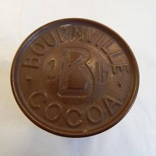 Bournville Cadbury England Vintage Cocoa Tin