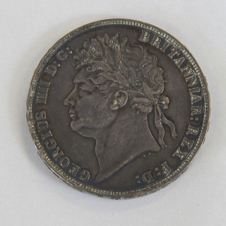 1821 British Crown. High Grade