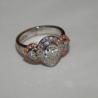 Stunning Diamond Ring. Valued $24,180