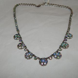 1950's Rheinstone Necklace