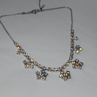 Pretty Diamantee 1950's Necklace