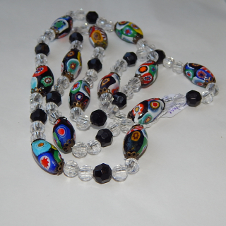 Millefiori Italian Bead necklace