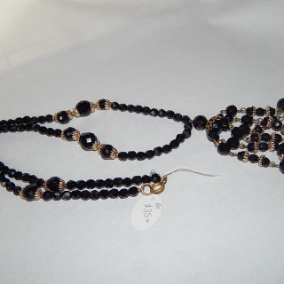 Long String Of FRENCH Jet Beads