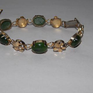 Jade set Costume Jewellery Bracelet