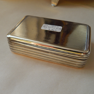 1820 Sterling Silver SNUFF Box