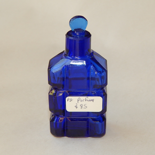 Cobolt Blue wee Perfume Bottle