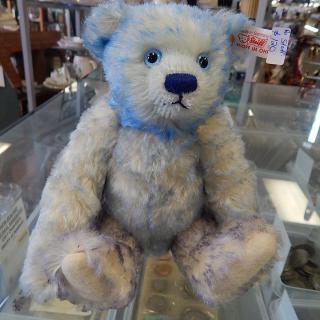 Small Millennium Steiff Bear in Blue