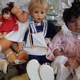 RARE Gotz Limited Edition Boy Doll