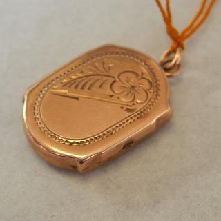 9ct Gold Rose Gold Locket