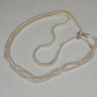 NEW 51cm Sterling Silver chain