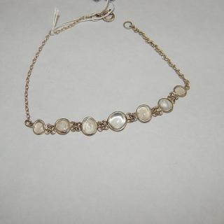 19cm Vintage Moonstone Bracelet