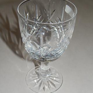 6 Edinburgh Crystal wine glasses