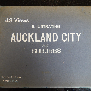 43 Views of Auckland City and Suburbs Antique booklet