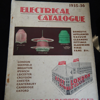 RARE 1935-36 Electrical Catalogue East London Rubber Co