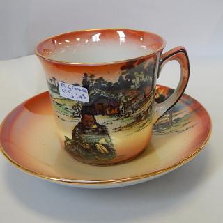 Grimwades Maori Ware MAORI CARVER , Cup and Saucer