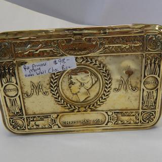 Princess Mary WW1 Brass Chocolate Box