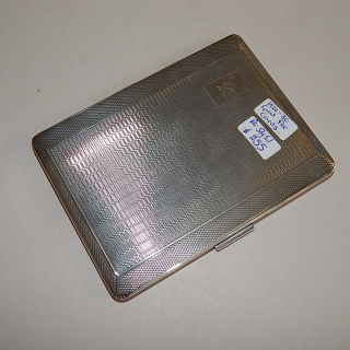 Sterling Silver 1920's Cigarette Case