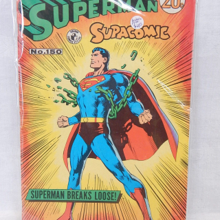1972 Superman Supacomic no.150