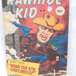Early Comic, RAWHIDE KID No 38