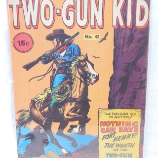Early Comic, TWO-GUN KID No.42