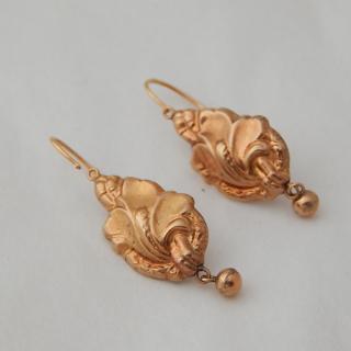 18K Antique Gold earrings