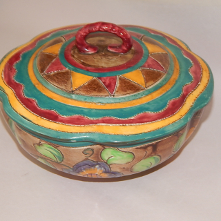 MEDINA, Shorter and sons Period ware container