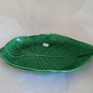 Antique WEDGWOOD Green Leaf bowl