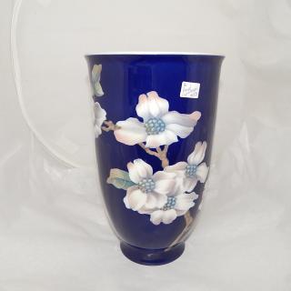 Tall Royal Copenhagen Blue flower Vase