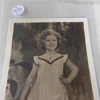 Original SHIRLEY TEMPLE promotional photo