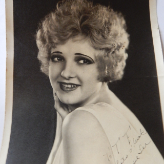 Dixie Lee Movie Star signed photo