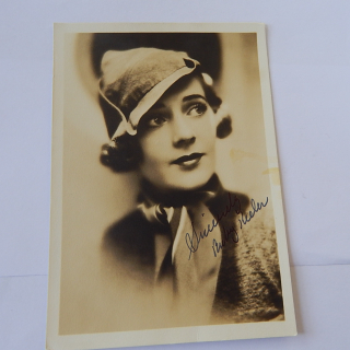 Ruby Keeler Signed photo