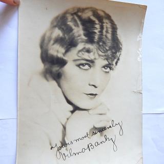 Vilma Banky 1927 Photograph