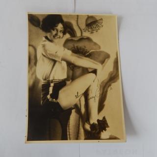 Nancy Carroll 1920's Signed Photograph
