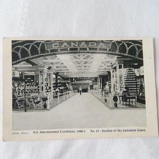 NZ International Exhibition 1906-7, Postcard