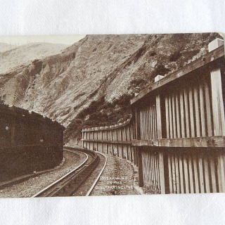 N.Z Postcard. BREAKWIND on the Rimutaka incline