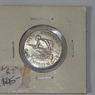 1943 High Grade NZ Shilling