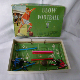 Boxed BLOW FOOTBALL Game
