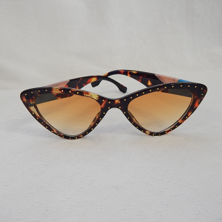 Brown Cats Eye Sunglasses