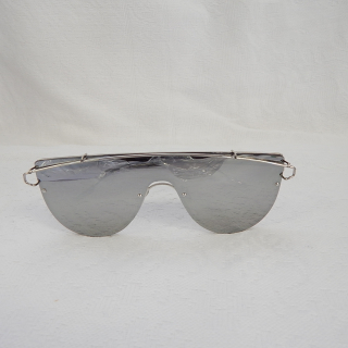 DEVO Vintage Styled Mirrored Sunglasses