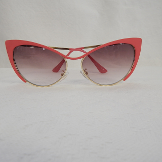 Pink CATS EYE Sunglasses