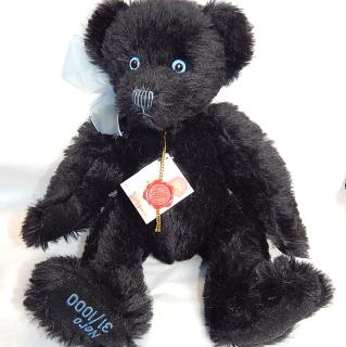Limited edition HERMANN Teddy. NERO. 31 of 1000