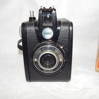 Gevaert Roll Film GEVABOX Vintage Camera. 120