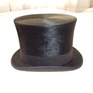 Original Woodrow and Sons Seal Skin Top Hat.
