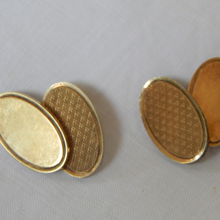 Pair of Sterling Silver Cuff Links
