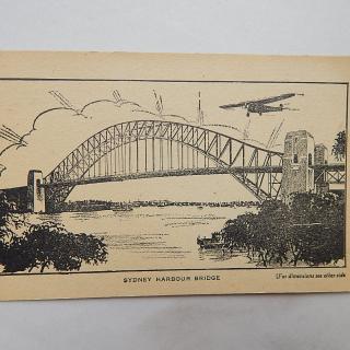 Sydney Harbour Bridge FACTS Card