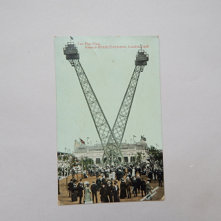 The FLIP FLAP Franco-British Exhibition, London 1908 Postcard